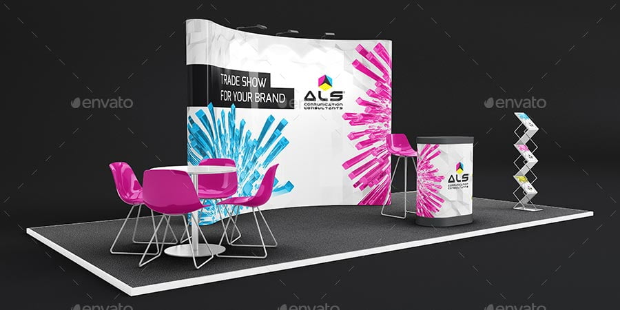 Trade Show Booth Mockup Bundle