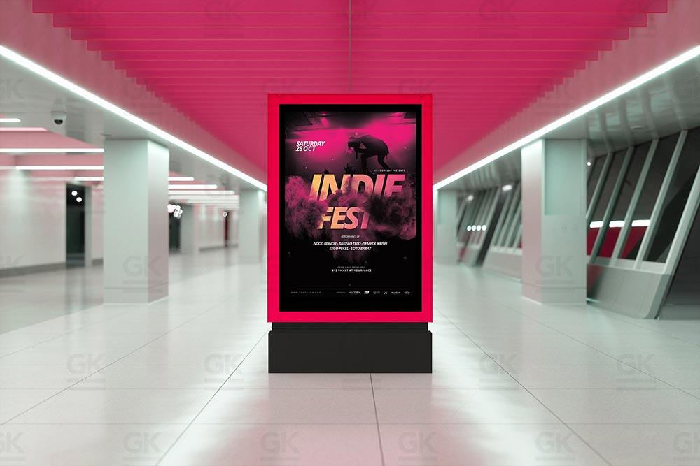 Lightbox Mock-up - Ad Station Series
