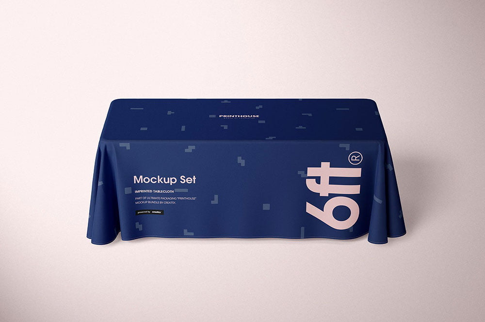 Best Tablecloth Mockup PSD Templates