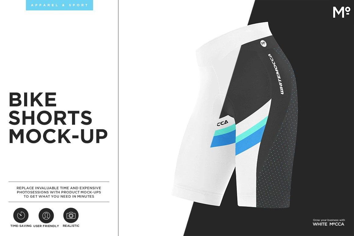 Bike Shorts Mock-up