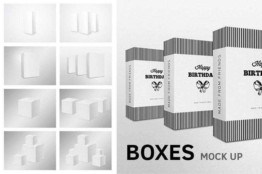 Box Mockups