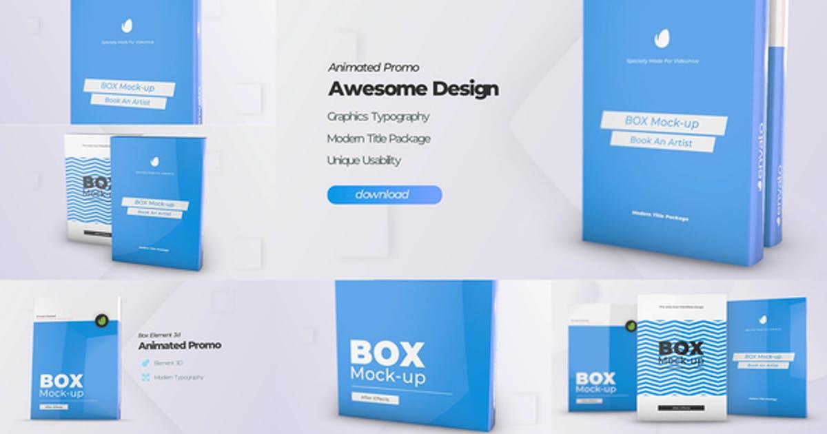 Box Software Mockup