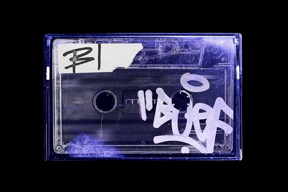 Cassette Tape Vintage Mockup