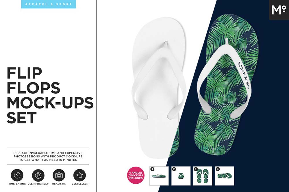 Flip Flops Mock-ups Set