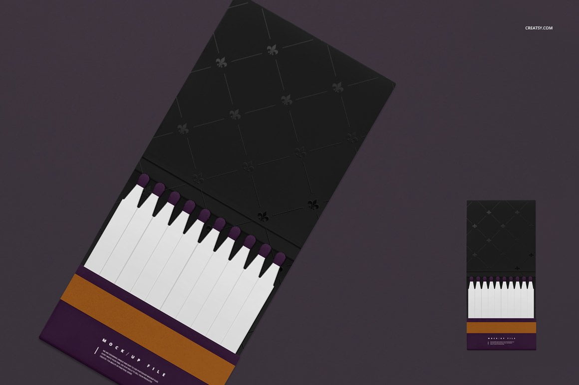 Matches Mockup Set
