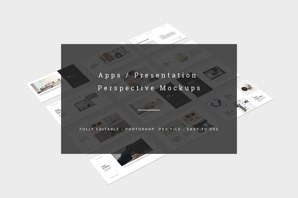 Perspective Presentation Mockup