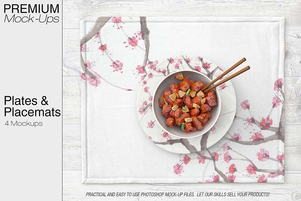 Placemat & Plates Set
