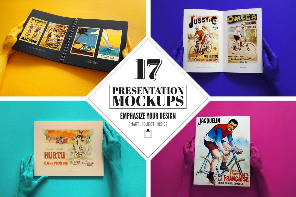 17 Presentation Mockups