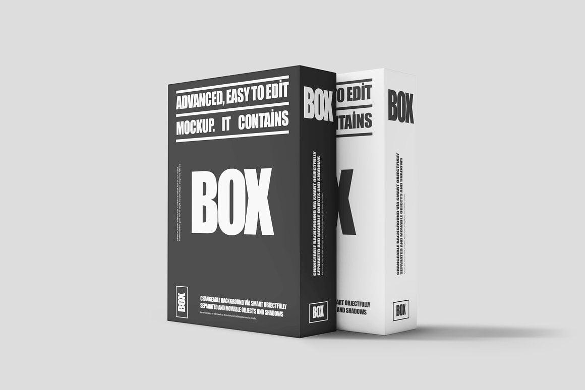 Software Box Mock-up 2