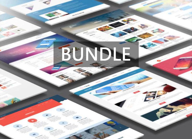 Website Presentation Mock-Up Bundle
