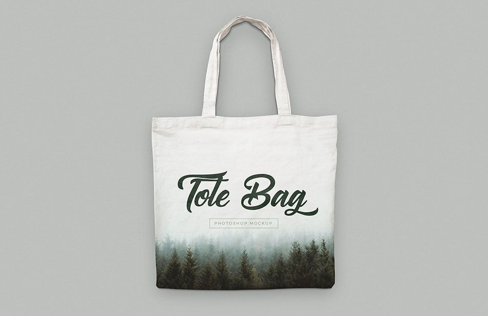 Best Tote Bag Mockup PSD Templates