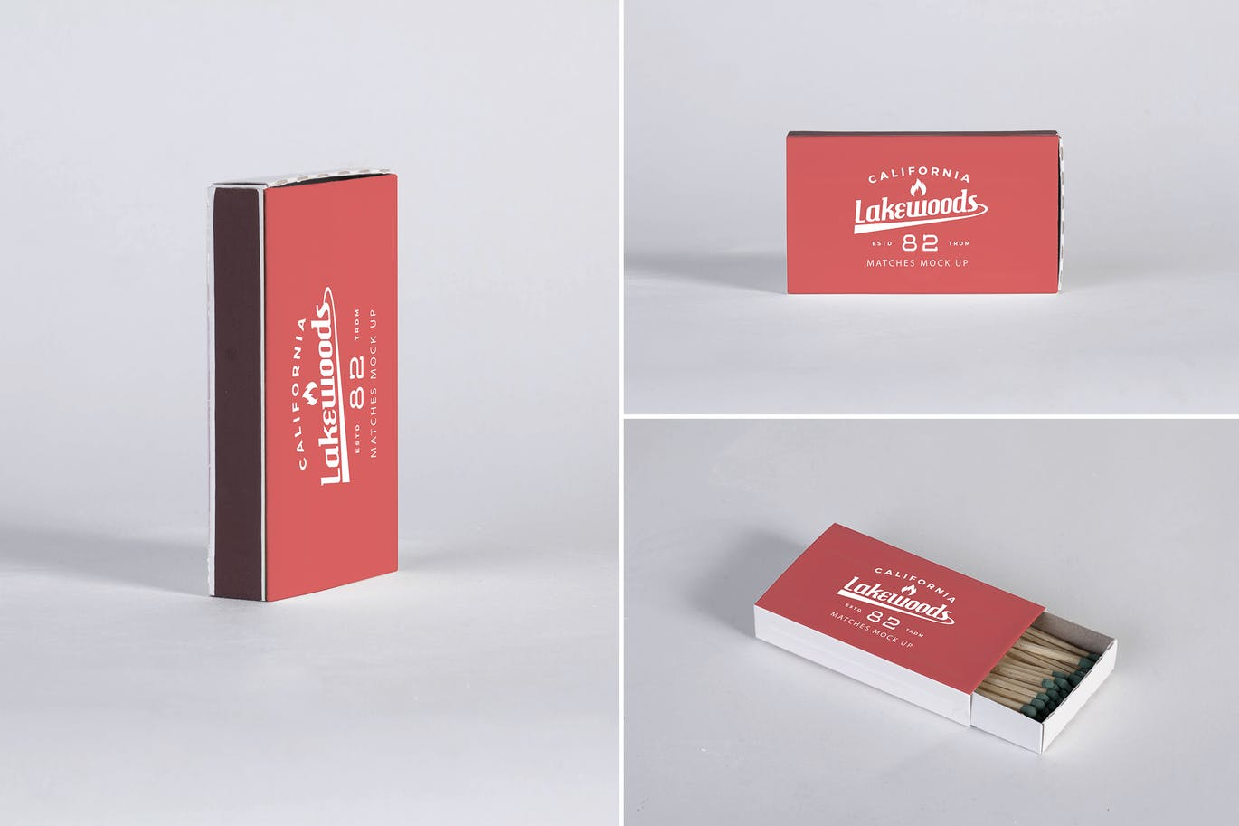 Matches Box Mockup