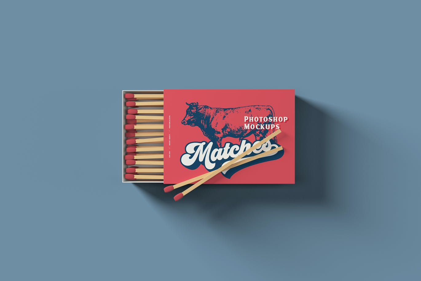 Matches Box Mockups