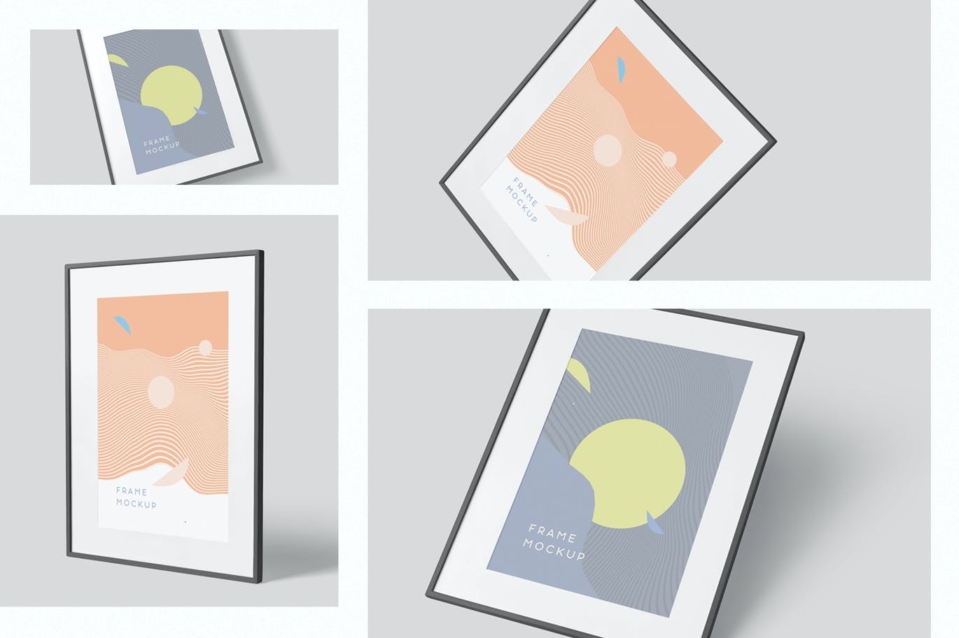 Artwork Frame Mock-Up Set