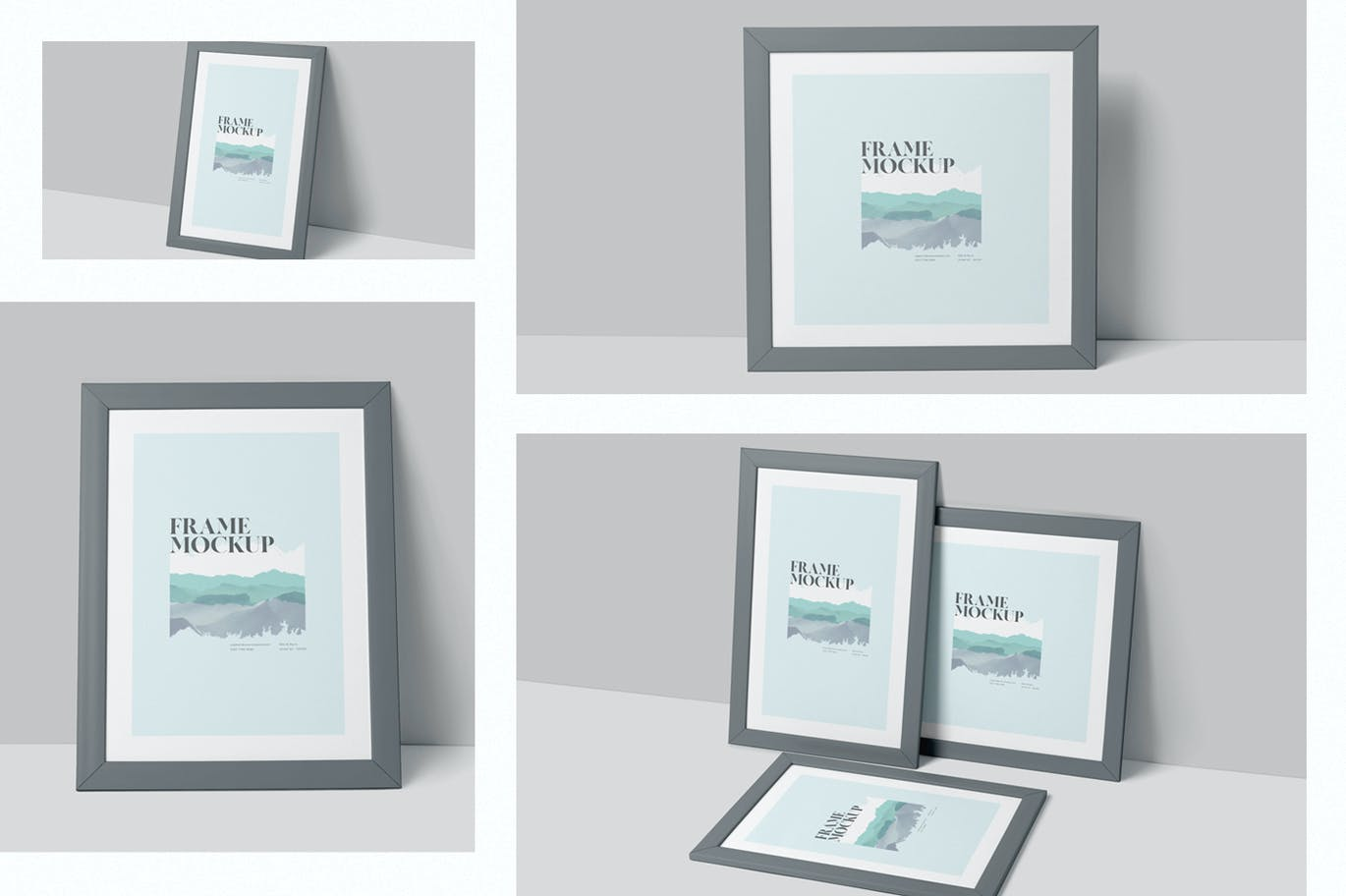 Artwork Frame Mockup Set
