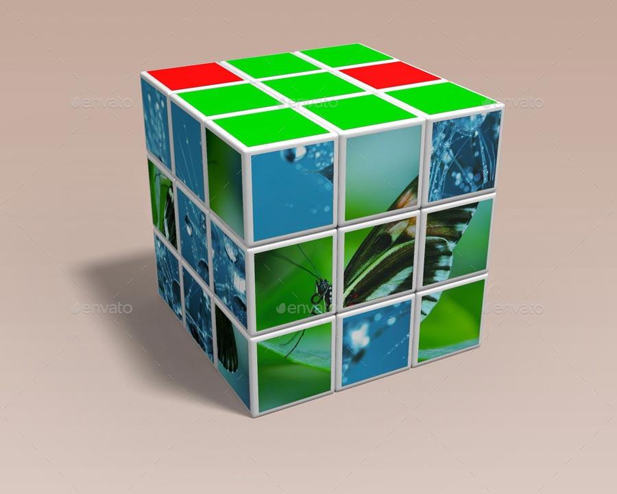 Rubik's Cube Mock-up