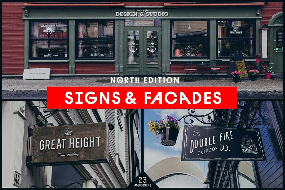 Signs & Facades Mockups