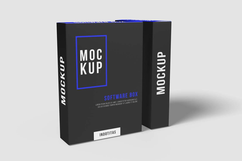 Software Box Mockup