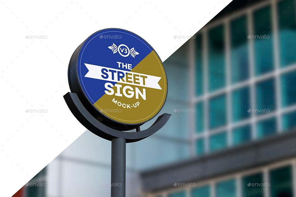Street Sign Mock-Up Bundle
