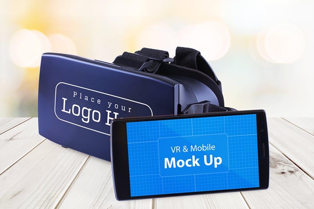 VR & Mobile Mock Up