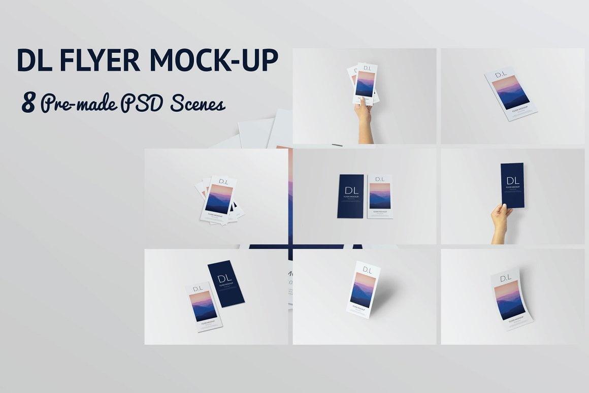 DL Flyer Mockup