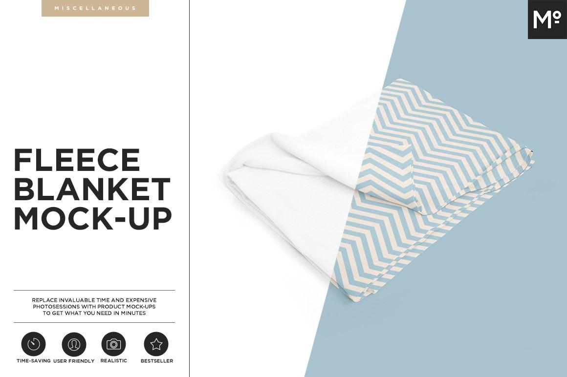 Fleece Blanket Mock-up