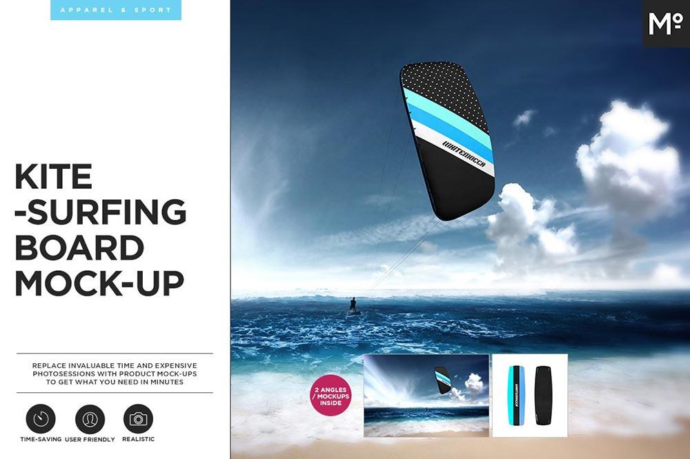 Kitesurfing Mock-up