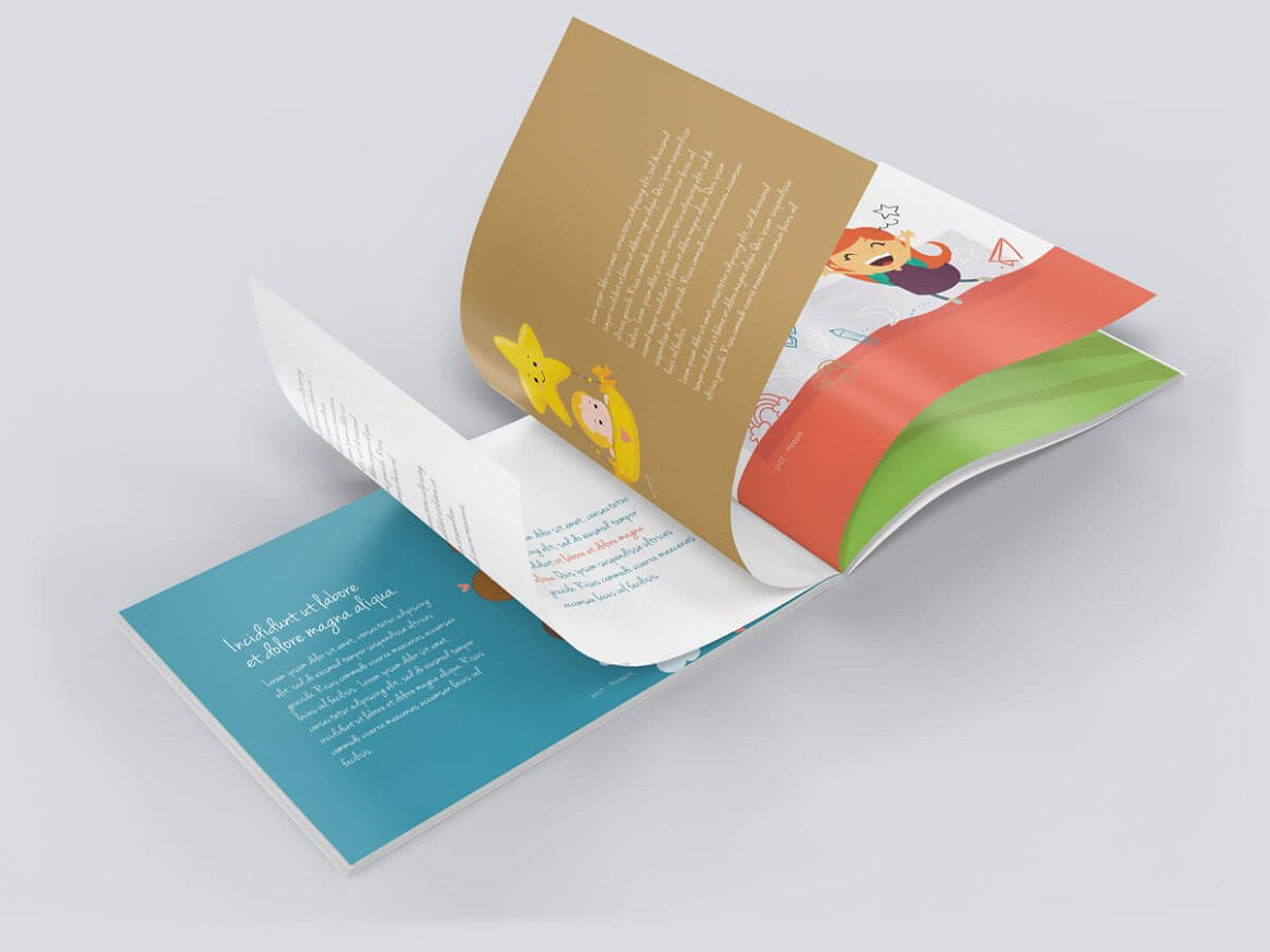 Landscape Brochure Catalog Mockups
