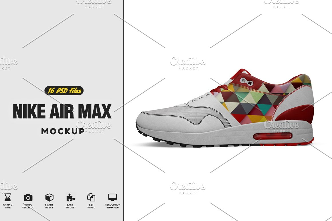 Nike Air Max Ultra Mockup