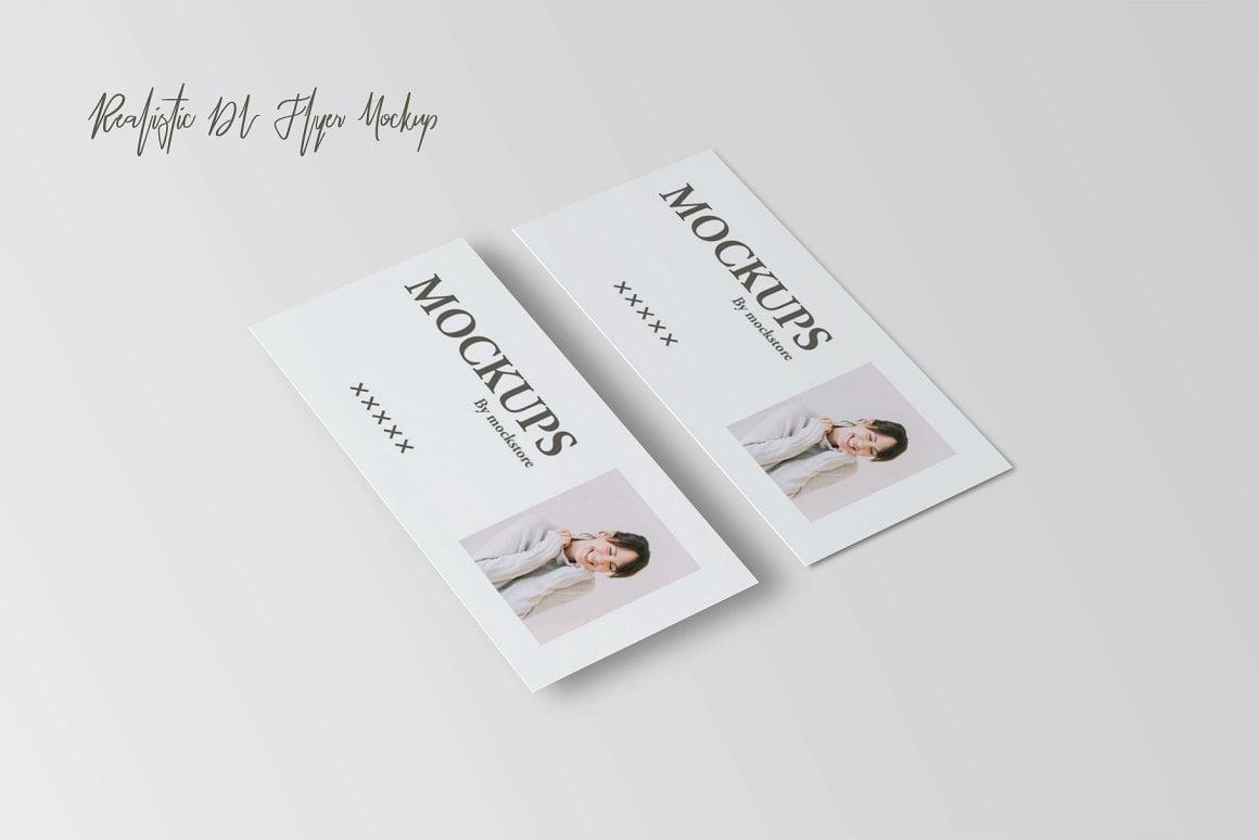 Realistic DL Flyer Mock-Up