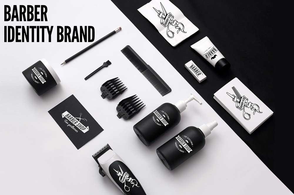 Barber Shop Identity Brand