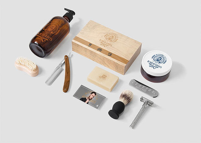 Best Barber Shop Mockup PSD Templates