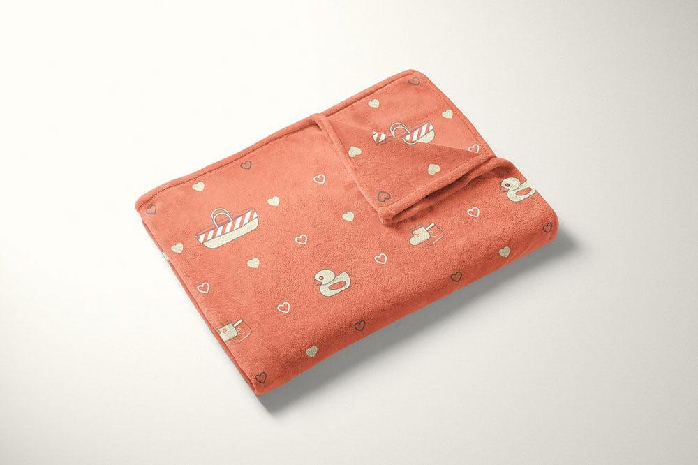 Best Blanket Mockup PSD Templates