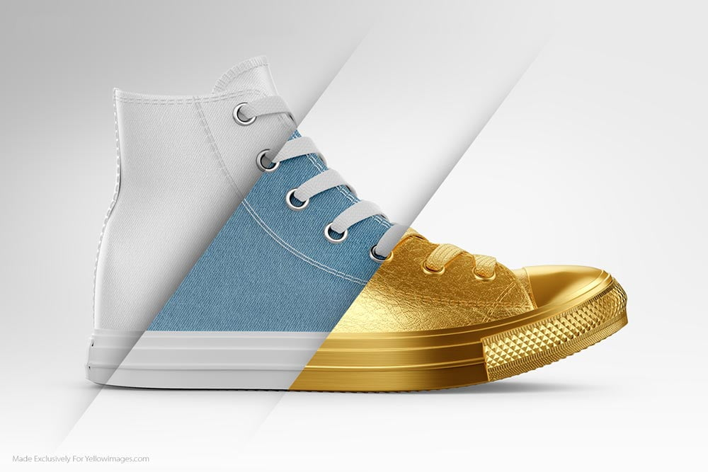 Best Sneakers Mockup PSD Templates
