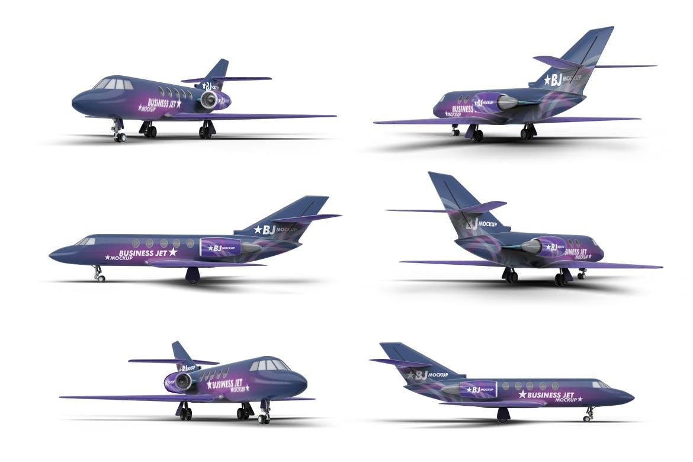 Business Jet Mock-Up