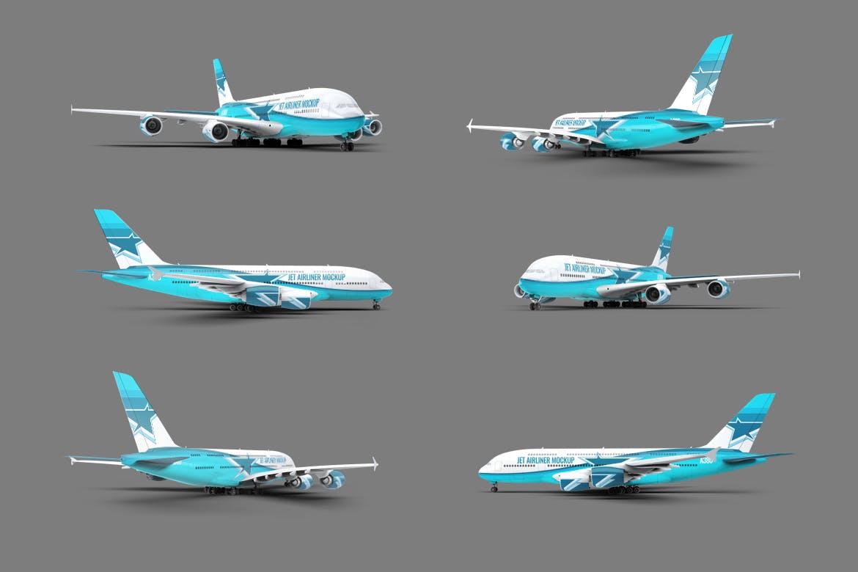 Jet Airliner Mock-Up