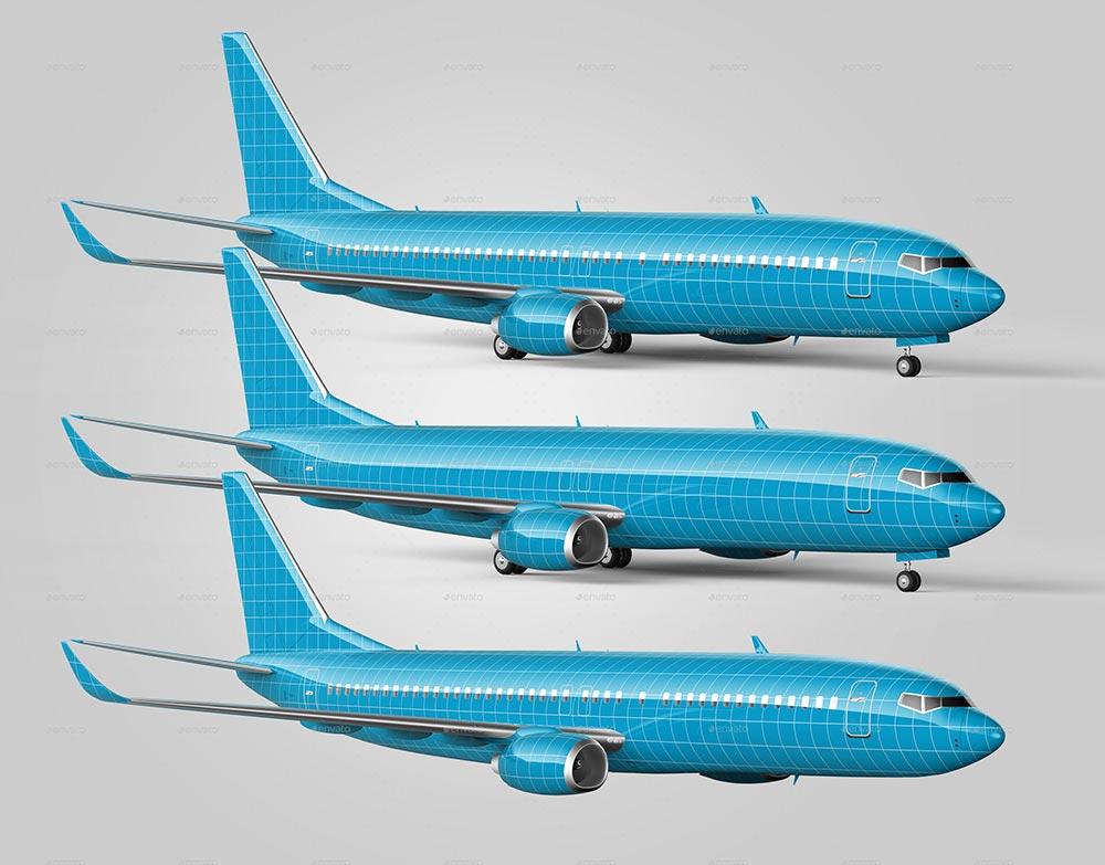 Jet Airliner Mockup