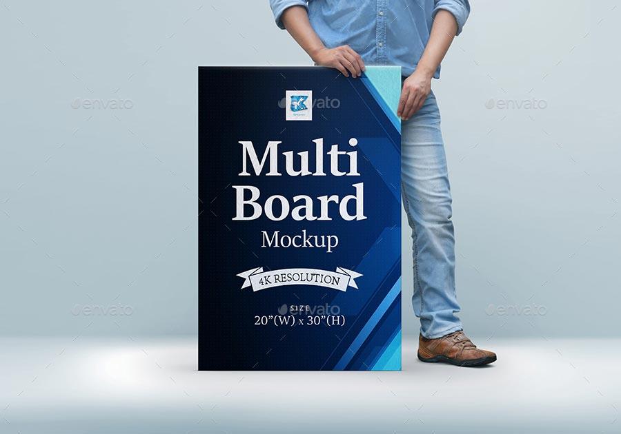 Multi-board Mock-up