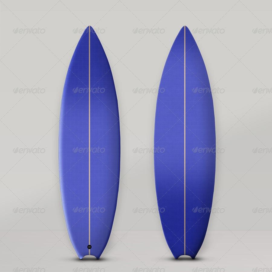 Surfboard Mockups