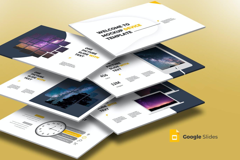 Mockup Device - Google Slides Template