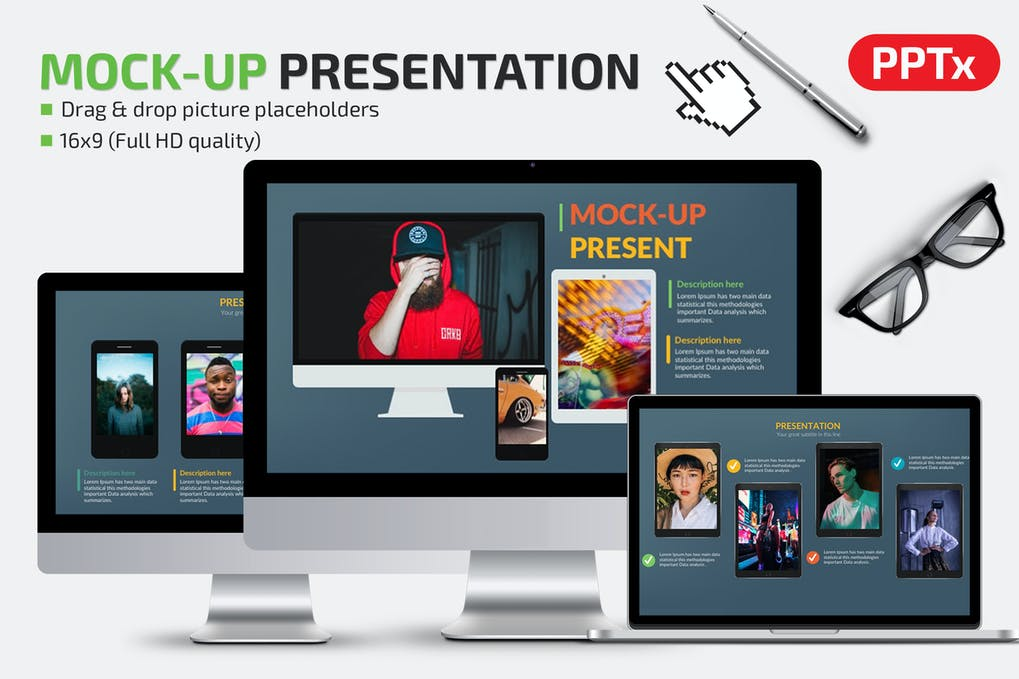Mockup Powerpoint