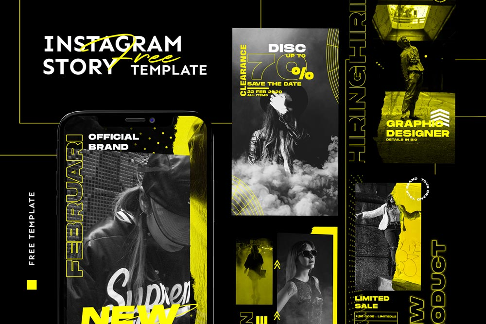 Free Instagram Story Templates