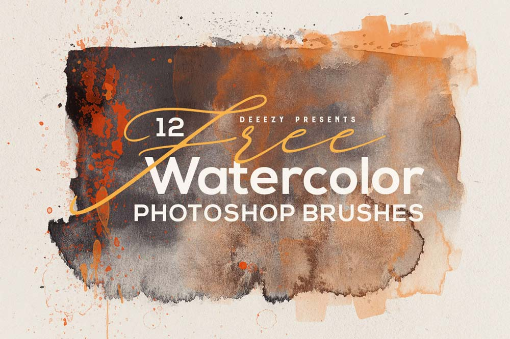 Free Abstract Watercolor Brushes