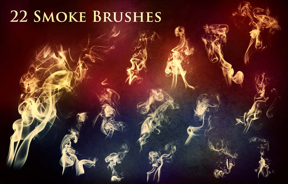 Free Smoke and Fire Brushes
