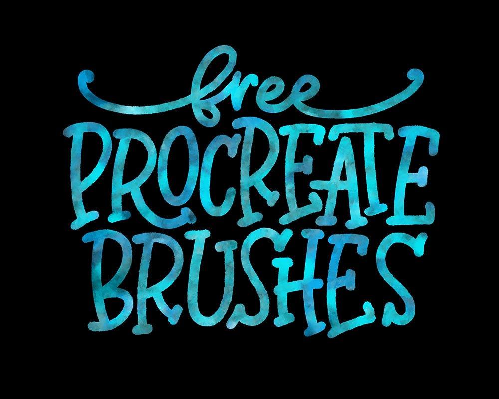 Free Stockpile Procreate Brushes