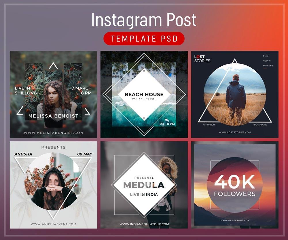 Best Free Instagram Post Templates