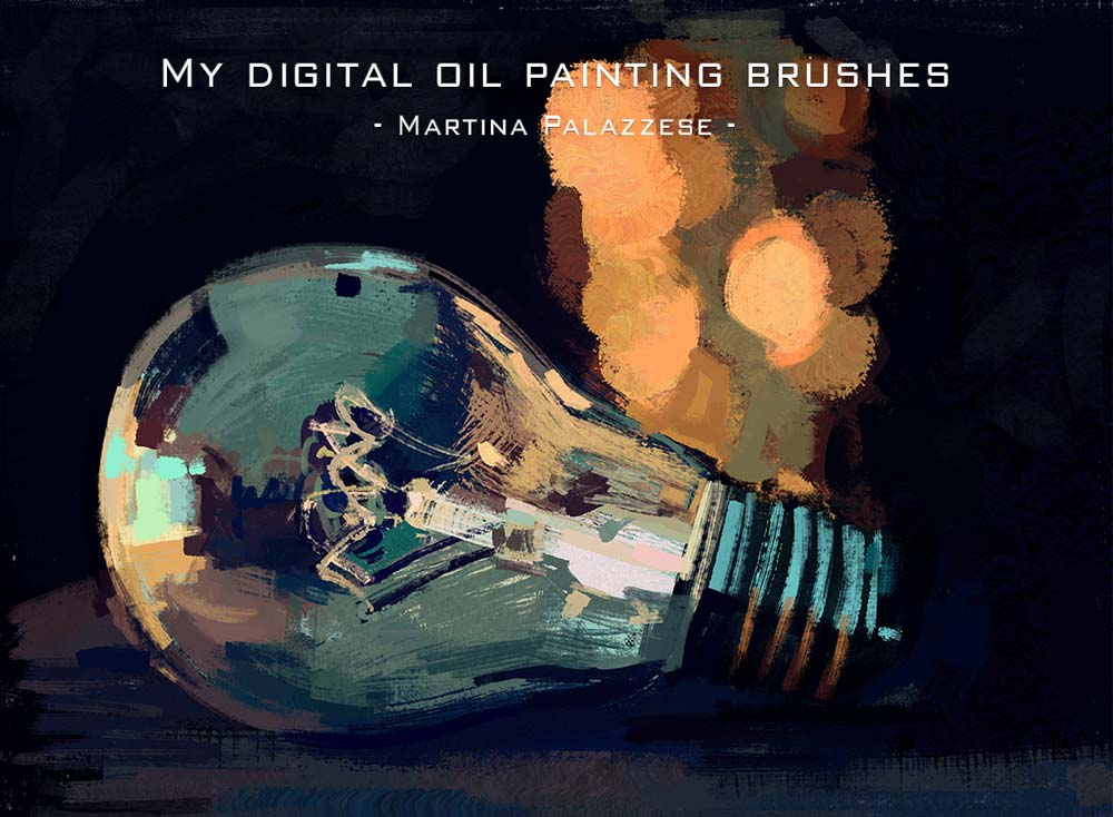 Free Oil Painting Photoshop Brushes