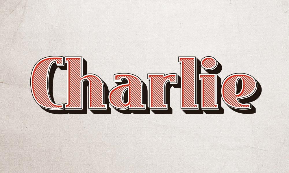 Free Charlie Text Effect