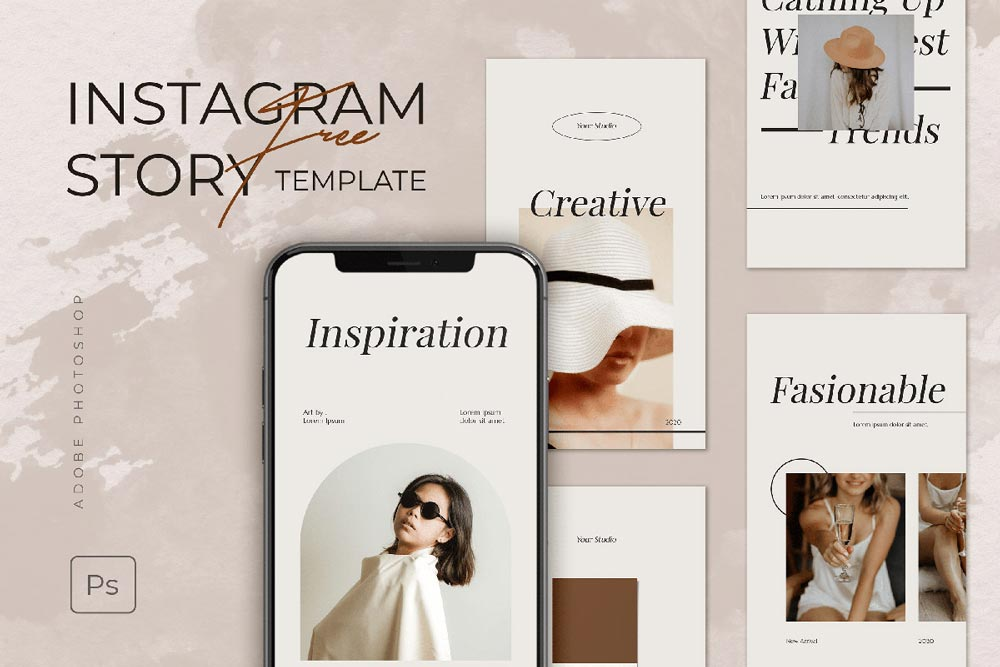 Free Instagram Story Template