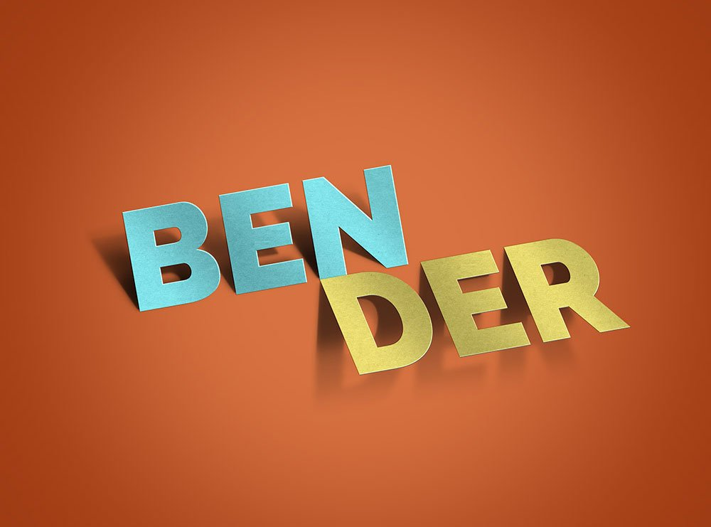 Free Bender Text Effect